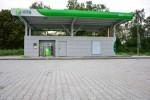 petrol station praha