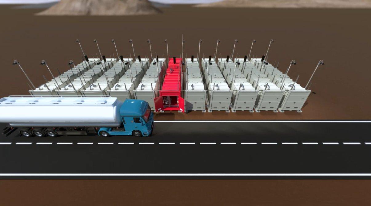 06 tank depot filling admin